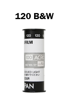 120 Black and White Film Developing