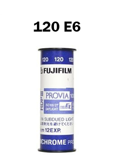 120 E6 Film Processing by Mail Order