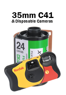 35mm C41 Film Processing