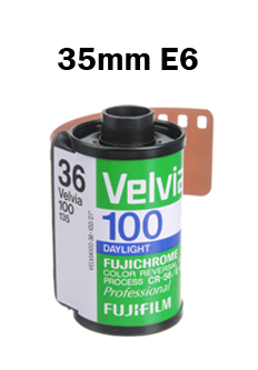 35mm E6 Slide Film Developing By Mail Order