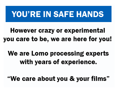Safe hands film developing services