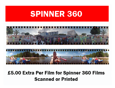 Lomo - Spinner 360 film processing Labs